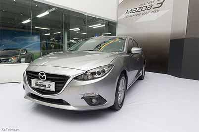 Xe 4 chỗ Mazda 3 2017
